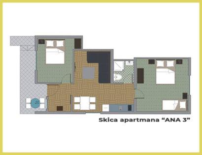 SKICA apt ANA 3