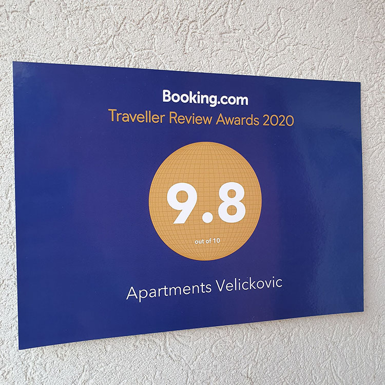 Booking apartments Velickovic